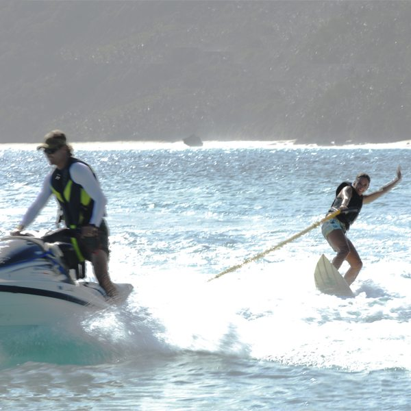 Tow-Surfing