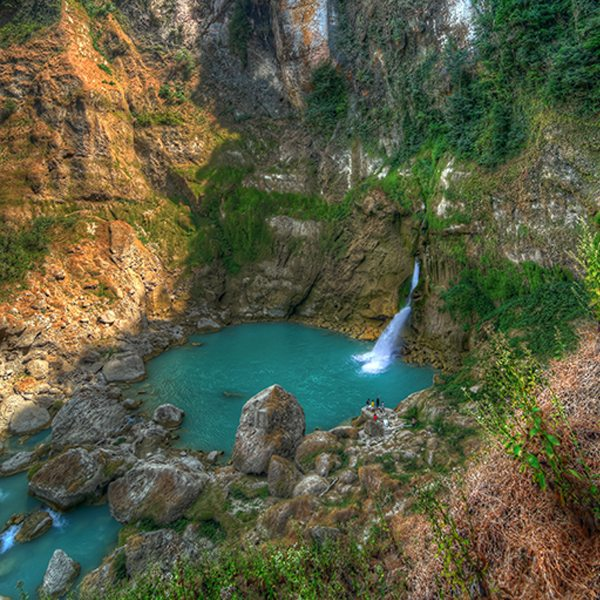 Blue Waterfall Tour